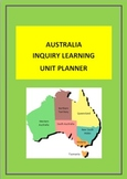 AUSTRALIA - INQUIRY LEARNING UNIT PLANNER