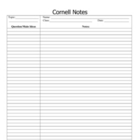 AVID Strategy- Cornell Notes