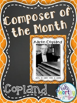 http://www.teacherspayteachers.com/Product/Aaron-Copland-FREEBIE-Composer-of-the-Month-Bulletin-Board-Set-Youtube-Links-1394135