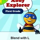 Abby Explorer Phonics - First Grade: Blend with Letter L Series