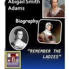 Abigail Adams Biography ~ Nation's Second First Lady