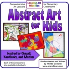 Abstract Art For Kids - Art Lessons Inspired by Chagall, K