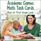 Academic Olympics Math Task Cards