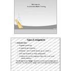 Accelerated Math Training (SMART Board Notebook File)