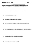 Acceleration by Graham McNamee Quiz:  Chapters 18-26