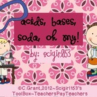 Acids and Bases Fun Activity