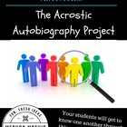 Acrostic Autobiography Project