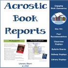 Acrostic Book Reports (Common Core Aligned)