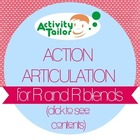 Action Articulation for R and R blends