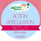 Action Articulation for Z, L, G