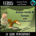 Action Verbs: Past, Present, and Future with Ranger Smith