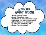 Activboard Weather Flipcharts and Printable Combo Pack