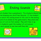 Active Literacy Ending Sounds Game