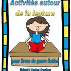 Activites Autour de la Lecture:  French Reading Response A