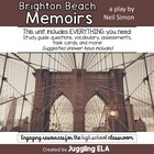 Activities and Handouts for Brighton Beach Memoirs  by Neil Simon
