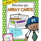 Activities for Array Cards
