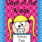 Activities for learning the Days of the Week
