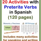 Activities with the Preterite in Spanish-20 Activities (12