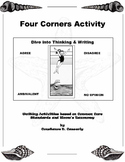 Critical Thinking & Writing Lesson: Four Corners Activity