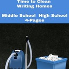 Activity: Write Right! Time for Spring Cleaning