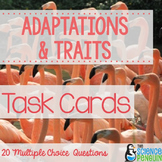 Adaptations and Traits Task Cards
