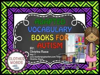 Vocabulary Adapted Books