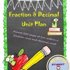Add & Subtract Fraction & All Operation Decimal Engaging Bundle