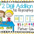 Two Digit Addition- No Regrouping (Common Core 1.NBT.4 and