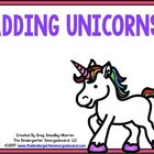 Adding Unicorns:  A Common Core Aligned Addition Pack