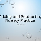 Adding and Subtracting Fluency Practice Powerpoint