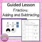Adding and Subtracting Fractions PPT Lesson