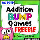 Addition Bump Games Freebie