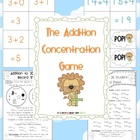 Addition Concentration Game Numbers 1-20 - 38 pages