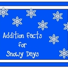 Addition Facts for Snowy Days