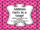 Addition Facts in a Snap!
