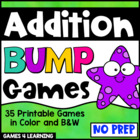 Addition Games 35 Addition Bump Games