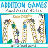 Addition Games - more mixed addition practice
