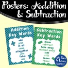 Addition Key Words Poster/ Anchor Chart