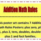 Addition Math Rules