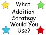 Addition Math Strategies Posters