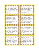Addition Number Story Cards