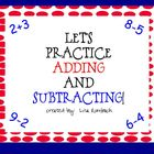 Addition & Subtraction Activities SmartBoard Lessons Prima