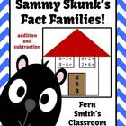 Addition & Subtraction Fact Families Center Game & Interac