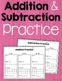 Addition & Subtraction Practice Bundle