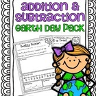 Addition & Subtraction Story Problems {Earth Day Pack}