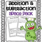 Addition & Subtraction Story Problems {Outer Space Pack}