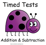 Addition & Subtraction Timed Tests