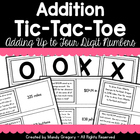 Addition Tic-Tac-Toe: Practicing Addition Word Problems wi