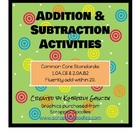 Addition and Subtraction Fact Activities Made Fun