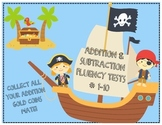 Addition and Subtraction Math Fluency 1-10